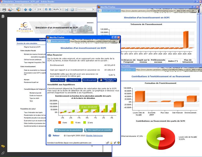 Simulateur rentabilité investissement locatif